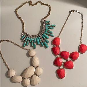 Chunky necklace bundle!